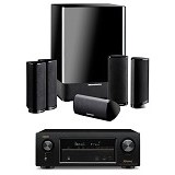 HARMAN KARDON Home Theater HKTS 11BQ + Denon Dolby Atmos AVR-X1300W (Merchant) - Home Theater System