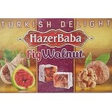 HAZERBABA Fig Walnut Turkish Delight (Merchant) - Aneka Kacang