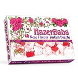 HAZERBABA Rose Flavour Turkish Delight (Merchant) - Buah Kering