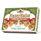HAZERBABA Turkish Delight Crispy Almond 250gr - Aneka Kacang