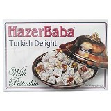 HAZERBABA Turkish Delight with Pistachio - Aneka Kacang