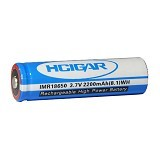 HCIGAR Battery 18650 - 2200 mAh - Battery and Rechargeable