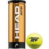 HEAD ATP Metal Can 3-Balls - Bola Tenis