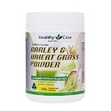 HEALTHY CARE Barley and Wheat Grass Powder 200 gr [BMBIOCC-80] - Suplement Pencegah Penyakit Jantung / Kolesterol
