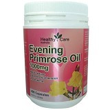 HEALTHY CARE Evening Primrose Oil 400 Caps [HCEPO1000MG400C] - Suplement Pencegah Penyakit Jantung / Kolesterol
