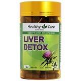 HEALTHY CARE Liver Detox 100 Caps [HCLD100C] - Suplement Kesehatan Organ Hati