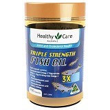 HEALTHY CARE Triple Strength Fish Oil 150 Caps [HCAM60C] - Suplement Pencegah Penyakit Jantung / Kolesterol