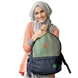 HEEJOU BAG Dalton - Dongker - Backpack Wanita