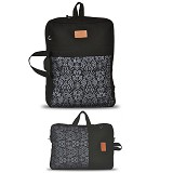 HEEJOU BAG Enre - Black - Backpack Wanita