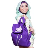 HEEJOU BAG Forget Me Not - Purple - Backpack Wanita
