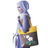 HEEJOU BAG Hanza - Brown - Tote Bag Wanita