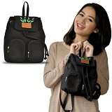 HEEJOU BAG Iona - Black - Backpack Wanita