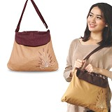 HEEJOU BAG Lavender - Brown - Cross-body Bag Wanita
