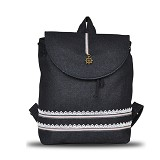 HEEJOU BAG Londa - Black - Backpack Wanita