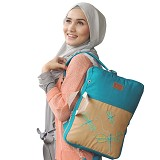 HEEJOU BAG Volante - Light Blue - Backpack Wanita