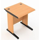HIGH POINT Five Compact Desk + Keyboard Tray [KYB] - Cherry - Meja Komputer