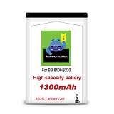 HIPPO Battery Blackberry 8100/8220 - Handphone Battery