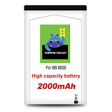 HIPPO Battery Blackberry 8800 2000mAh - Handphone Battery