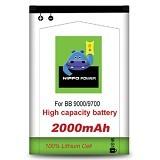 HIPPO Battery Blackberry Bold / Onyx1 / Onyx2 2000mAh - Handphone Battery