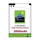 HIPPO Battery Double Power for Blackberry Davis / Amstrong 2000mAh (Merchant) - Handphone Battery