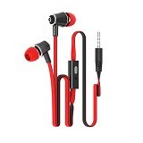 HIPPO Hop Original Handsfree for Smartphone  Extra 2 Pairs Silicone Ear Bud - Red - Earphone Ear Monitor / Iem