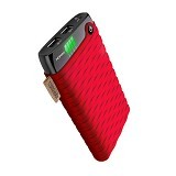 HIPPO Powerbank NOHA2 Simple Pack 12000mAh - Red - Portable Charger / Power Bank