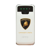 HIPPO Powerbank Lamborghini 5800 mah - White - Portable Charger / Power Bank