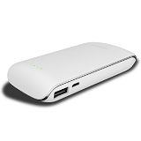 HIPPO Powerbank Luna 9000 mah - White - Portable Charger / Power Bank