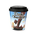 HIRO ONE Dark Chocolate Papercup 10 pcs [HD_003] (Merchant) - Coklat Kemasan Siap Minum