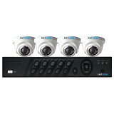 HIT VISION CCTV Camera Package 4 Channel - CCTV Camera