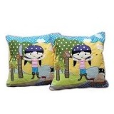 HOBIHOUSE Bantal Izzy Pirate - Bantal Dekorasi