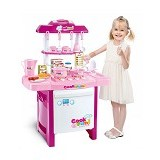 HOKIDONG Kitchen Set [KS-PM-WY] - Pink - Mainan Masak Masakan / Kitchen Toys