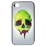 HOLAROCKA Color Skull 01 PVC iPhone 4/4S Case - Casing Handphone / Case
