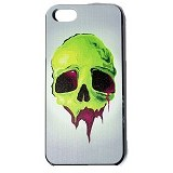 HOLAROCKA Color Skull 01 PVC iPhone 5/5S Case - Casing Handphone / Case