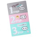 HOLIKA HOLIKA Pig Nose Clear Black Head 3 Step Kit (Merchant) - Perawatan Wajah Sensitif
