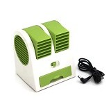 HOME KLIK AC Mini Double Blower - Green - Ac Portable