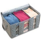 HOME KLIK Foldable Cloth Organizer - Container