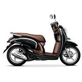 HONDA New Scoopy eSP Stylish (OTR Jawa Barat) - Fancy Black (Merchant) - Motor Bebek
