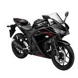 YAMAHA R25 ABS Predator Black Sepeda Motor (Merchant) - Motor Sport