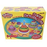 FUN-DOH Fun Doh Making Birthday Cake - Clay and Dough