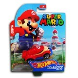 HOT WHEELS Character Cars Super Mario (Merchant) - Die Cast
