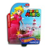 HOT WHEELS Character Cars Super Mario Princess Peach (Merchant) - Die Cast