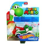 HOT WHEELS Character Cars Super Mario Yoshi (Merchant) - Die Cast