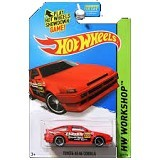 HOT WHEELS Workshop Toyota AE-8 Corolla - Die Cast