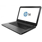 HP Notebook 14-ac144TX Non Windows - Silver - Notebook / Laptop Consumer Intel Core i3