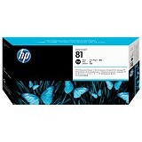 HP Black Dye Printhead and Printhead Cleaner 81 [C4950A] - Tinta Cartridge Wide Format Hp