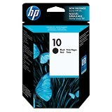 HP Black Ink Cartridge 10 [C4844A] - Tinta Printer Wide Format HP
