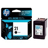 HP Black Ink Cartridge 21 [HP21B] (Merchant) - Tinta Printer HP