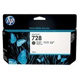 HP Black Ink Cartridge 728 [F9J68A] - Tinta Cartridge Wide Format HP