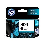 HP Black Ink Catridge 803 [F6V21AA]